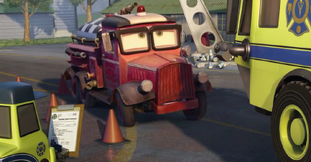 Mayday from the Disney film Planes Fire and Rescue