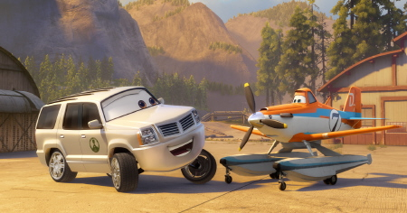 Cad Spinner from the Disney film Planes Fire and Rescue