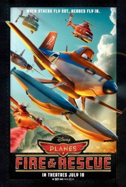 poster from the Disney film Planes Fire and Rescue