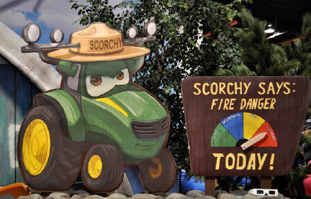 Scorchy says from the Disney film Planes Fire and Rescue