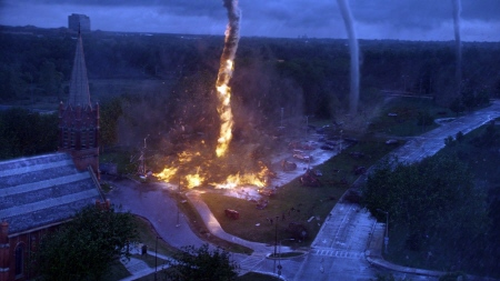 fire tornado from the Warner Bros. film Into the Storm