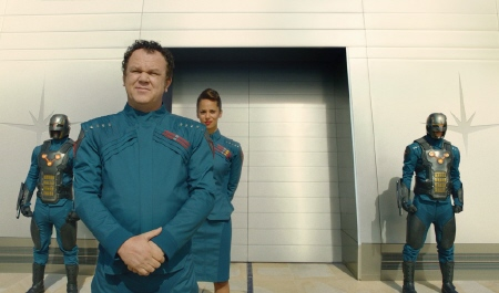 John C. Reilly as Corpsman Dey from the Marvel Studios film Guardians of the Galaxy