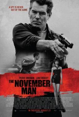 poster from the Relativity Media film November Man
