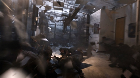 school storm shelter from the Warner Bros. film Into the Storm