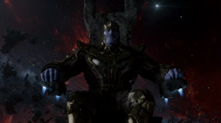 Josh Brolin as Thanos from the Marvel Studios film Guardians of the Galaxy