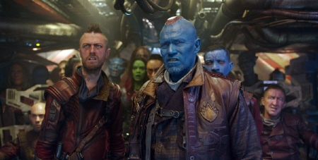 Yondu and the Ravagers from the Marvel Studios film Guardians of the Galaxy