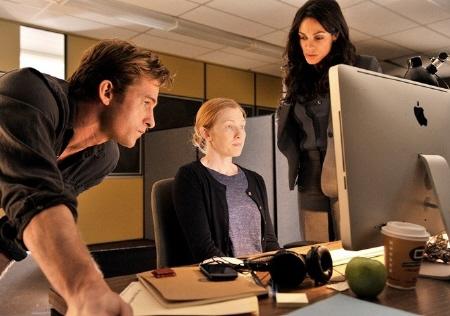 Scott Speedman and Rosario Dawson from the E1 Entertainment film The Captive