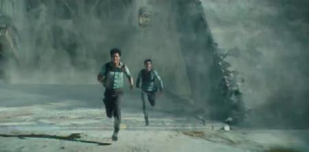 Minho and Thomas from the 20th Century Fox film Maze Runner