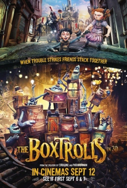 poster from the Laika Entertainment film The Box Trolls