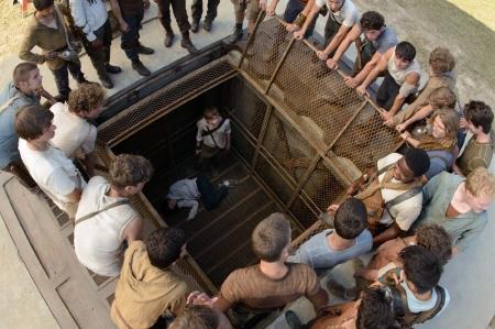 Newt finds Teresa from the 20th Century Fox film Maze Runner