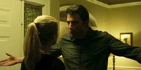 Ben Affleck and Rosamund Pike in the Twentieth Century Fox film Gone Girl