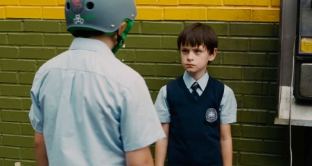 Oliver and the bully from the Weinstein Company film St. Vincent