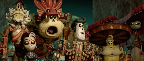 Sanchez family from the 20th Century Fox film Book of Life
