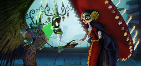 Xibalba and La Muerte from the 20th Century Fox film Book of Life