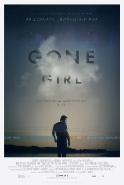 poster from the Twentieth Century Fox film Gone Girl