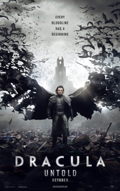 poster from the Legendary Pictures film Dracula Untold