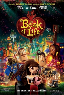 poster from the 20th Century Fox film Book of Life