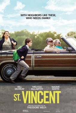 poster from the Weinstein Company film St. Vincent