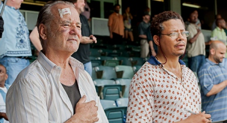Bill Murray and Terrence Howard from the Weinstein Company film St. Vincent