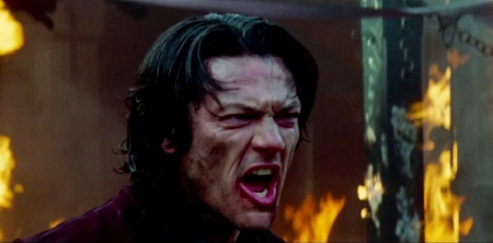 Luke Evans from the Legendary Pictures film Dracula Untold