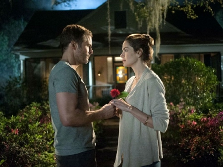 Older Dawson and Amanda from the Relativity Media film The Best of Me