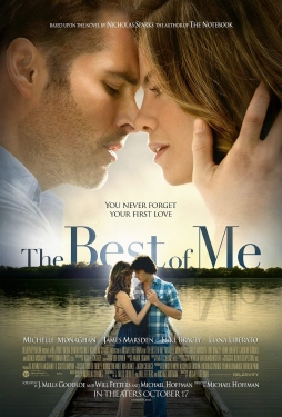poster from the Relativity Media film The Best of Me