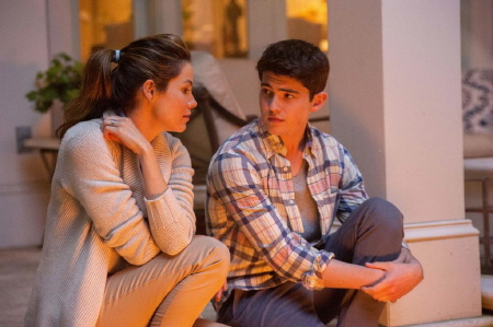 Michelle Monaghan and Ian Nelson from the Relativity Media film The Best of Me