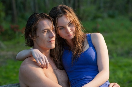 Luke Bracey and Liana Liberato from the Relativity Media film The Best of Me
